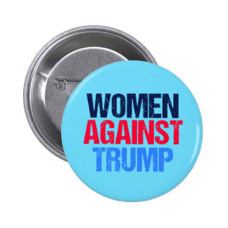 Women Against Trump 6 Cm Round Badge