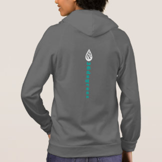 Women American fleece zip hoodie