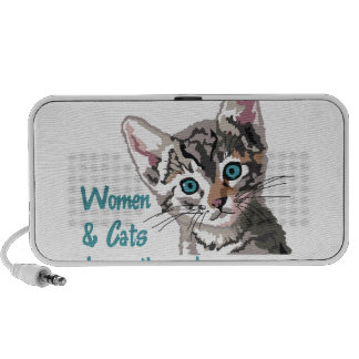 Women And Cats Travel Speakers