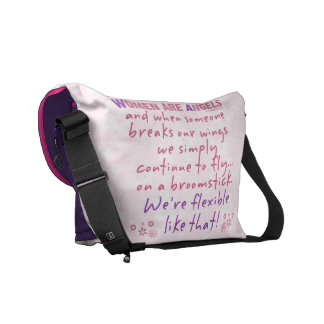 Women are Angels Commuter Bags