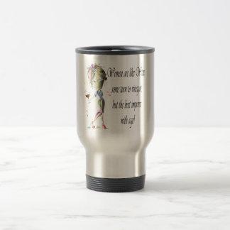 Women are like Wine, Humorous Gifts Travel Mug