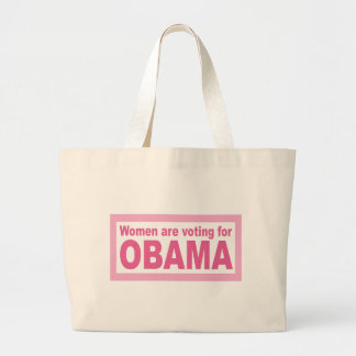 Women Are Voting For Obama Bags