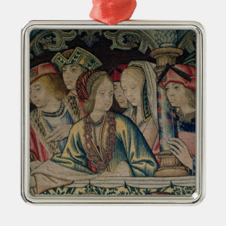 Women at the court of David Christmas Ornament