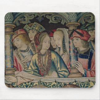 Women at the court of David Mouse Mat