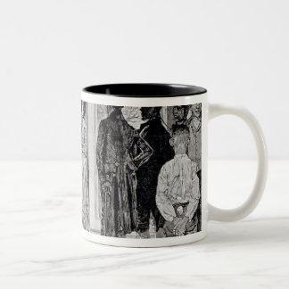 Women at the Polls in New Jersey Two-Tone Coffee Mug