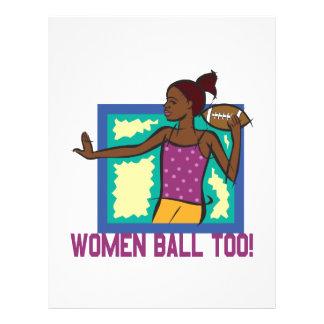 Women Ball Too Flyer