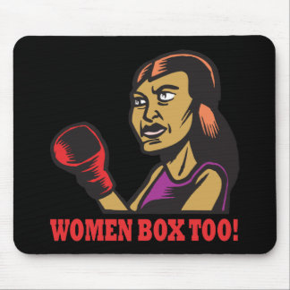 Women Box Too Mouse Pad