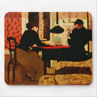 Women by Lamplight, 1892 Mouse Pad
