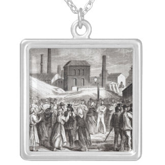 Women Demonstrating Silver Plated Necklace