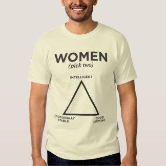 Women Diagram - pick two Tees