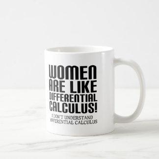 Women Differential Calculus Funny Mug Travel Mug