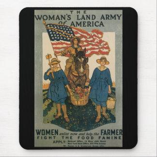 Women Enlist World War II Mousepad