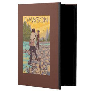 Women Fly Fishing - Dawson, Alaska iPad Air Covers
