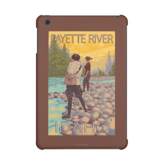 Women Fly Fishing - Payette River, Idaho