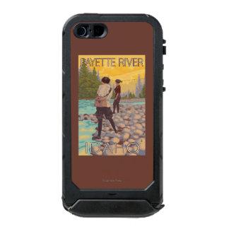 Women Fly Fishing - Payette River, Idaho Incipio ATLAS ID™ iPhone 5 Case