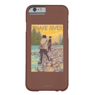 Women Fly Fishing - Snake River, Idaho Barely There iPhone 6 Case