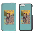Women Fly Fishing - Yukon, Alaska Incipio Watson™ iPhone 6 Wallet Case