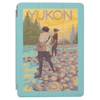 Women Fly Fishing - Yukon, Alaska iPad Air Cover