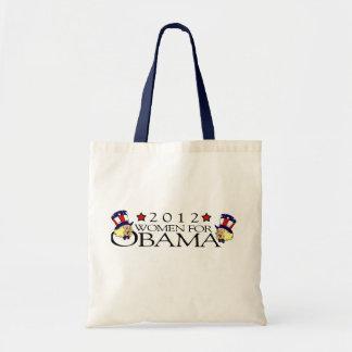 WOMEN FOR BARACK OBAMA TOTE BAG