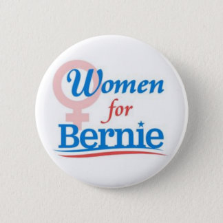 Women for Bernie 6 Cm Round Badge