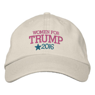 Women for Donald Trump - President 2016 Embroidered Hat