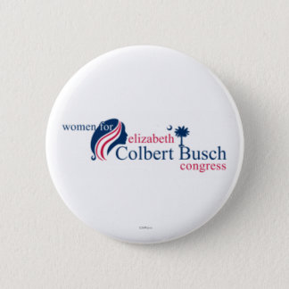 Women for Elizabeth Colbert Busch 6 Cm Round Badge