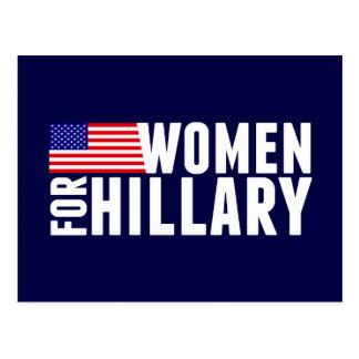 Women For Hillary Postcard