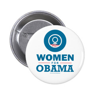 Women for Obama 6 Cm Round Badge