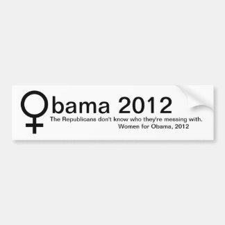 Women for Obama Bumper Stickers