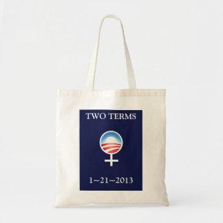 Women for Obama Inauguration Commemorative Tote Bags
