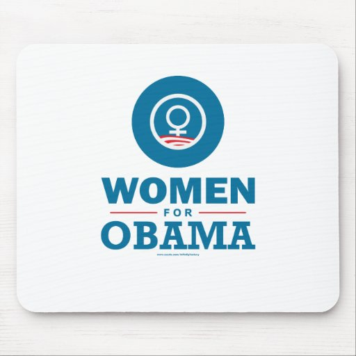 Women for Obama Mouse Pads