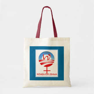 Women for Obama tote Budget Tote Bag