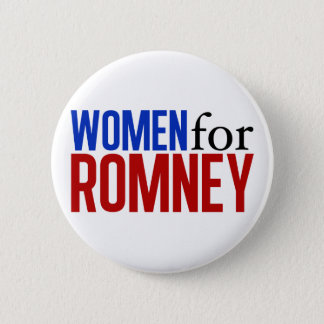 Women for Romney 6 Cm Round Badge
