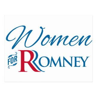 Women for Romney Postcard