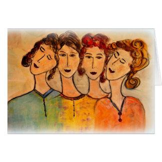 Women Friends Card