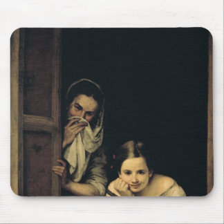 Women from Galicia at the Window, 1670 Mouse Mat