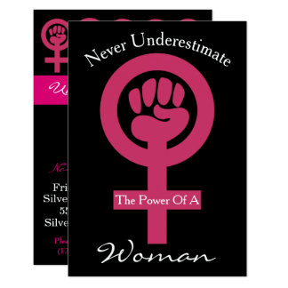 Women Gather & Brainstorm Invitation