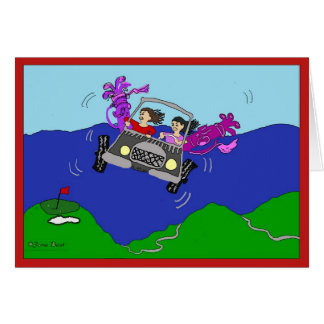Women Golfers Greeting Card
