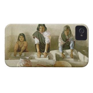Women Grinding Corn, Pueblo of Laguna, c.1905 (col Case-Mate iPhone 4 Cases