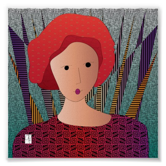 Women Hats Turban Poster