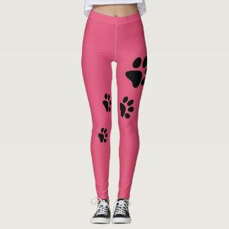 Women Im a Dog Pink Leggings