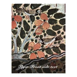 Women In A Sycamore  By Maler Der Grabkammer Des U Flyer
