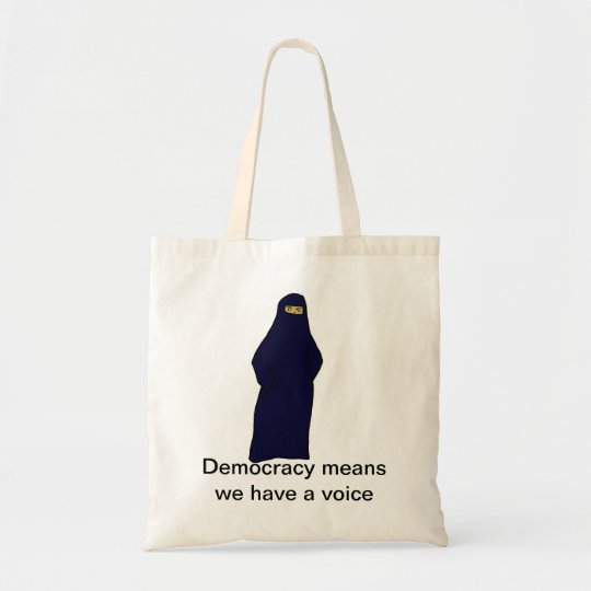 women in abaya colour, Democracy means we have