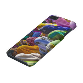 Women in colorful saris gather together iPod touch (5th generation) cases