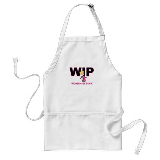 Women in Pink (WIP) Aprons