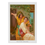 Women In The Bible - Martha and Mary Poster
