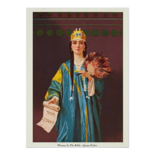 Women In The Bible - Queen Esther Poster