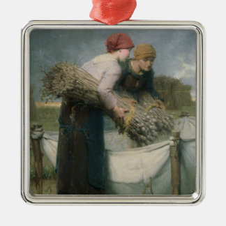 Women in the Field, 1882 Christmas Ornament