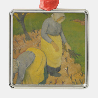 Women in the Vineyard, 1890 Christmas Ornament