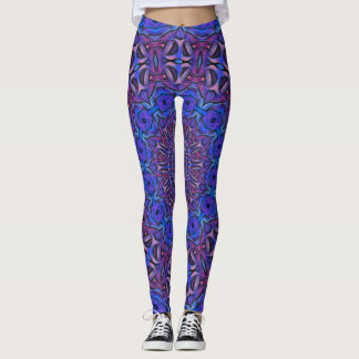 Women Leggings Mandala Flower 3D Digital Printing